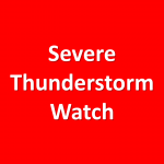 Severe Thunderstorm Watch until 10:00 pm CDT Sunday
