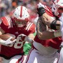 Trent Hixson Awarded Scholarship, Other Practice Notes from the Husker's Final Day of Fall Camp