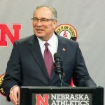 Athletic Director Bill Moos Holds Impromptu Press Conference