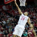 Huskers hit nine threes, overcome scoring funk to top Boston College