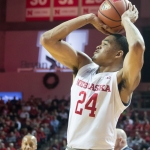 Huskers score most points in a dozen years, survive Roadrunners in shootout