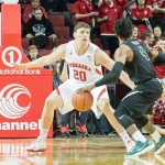 Huskers overcome slow first half with Borchardt's big second half