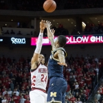 Palmer drops career-high 34, Huskers can't respond late