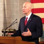 Governor Ricketts Pitches 'Work In Progress' Tax Package to Senators