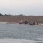 Pickup Truck Submerged In Holmes Lake