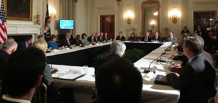 RICKETTS AT WH ROUNDTABLE