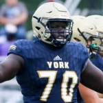 York defensive tackle Mapieu headed to Louisiana-Lafayette