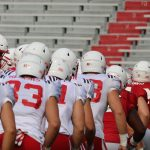 Huskers hold first spring practice inside Memorial Stadium