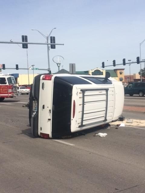 Rollover Injury Accident At 48th And O St.