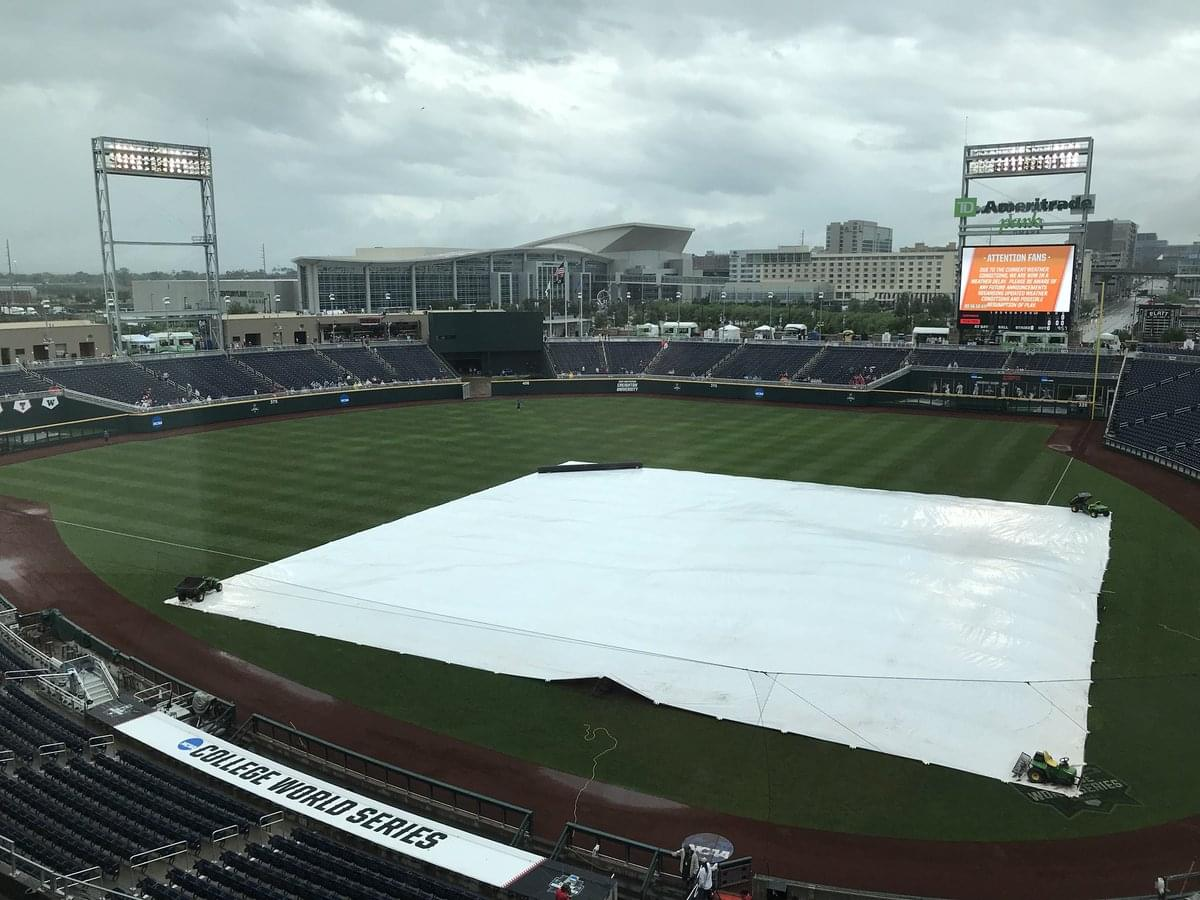 More rain in the forecast won't thwart the most loyal baseball fans, per CWS and Omaha officials | KLIN-AM