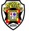 LINCOLN FIRE BADGE