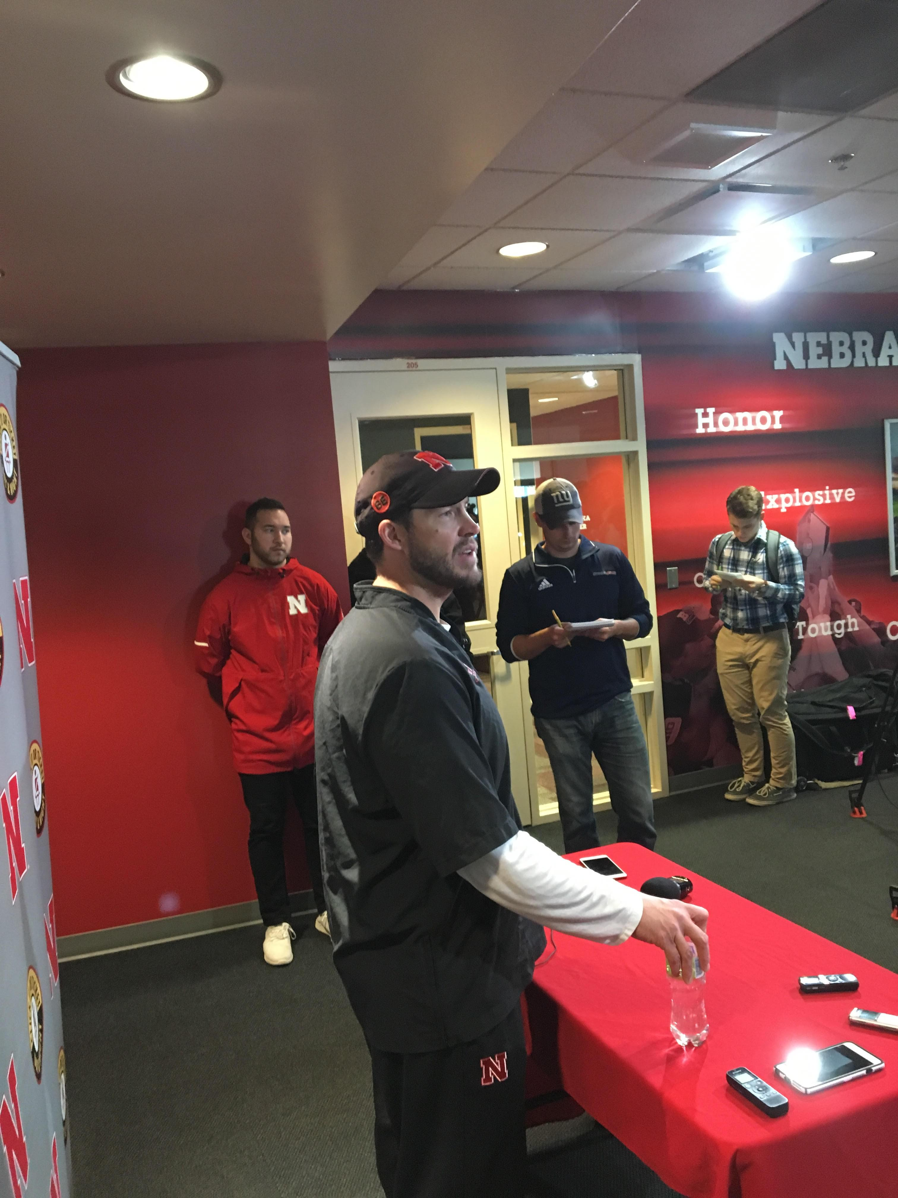 Huskers Add Four New Blackshirts for the Starters Besides Stille, Who Declined to Accept One