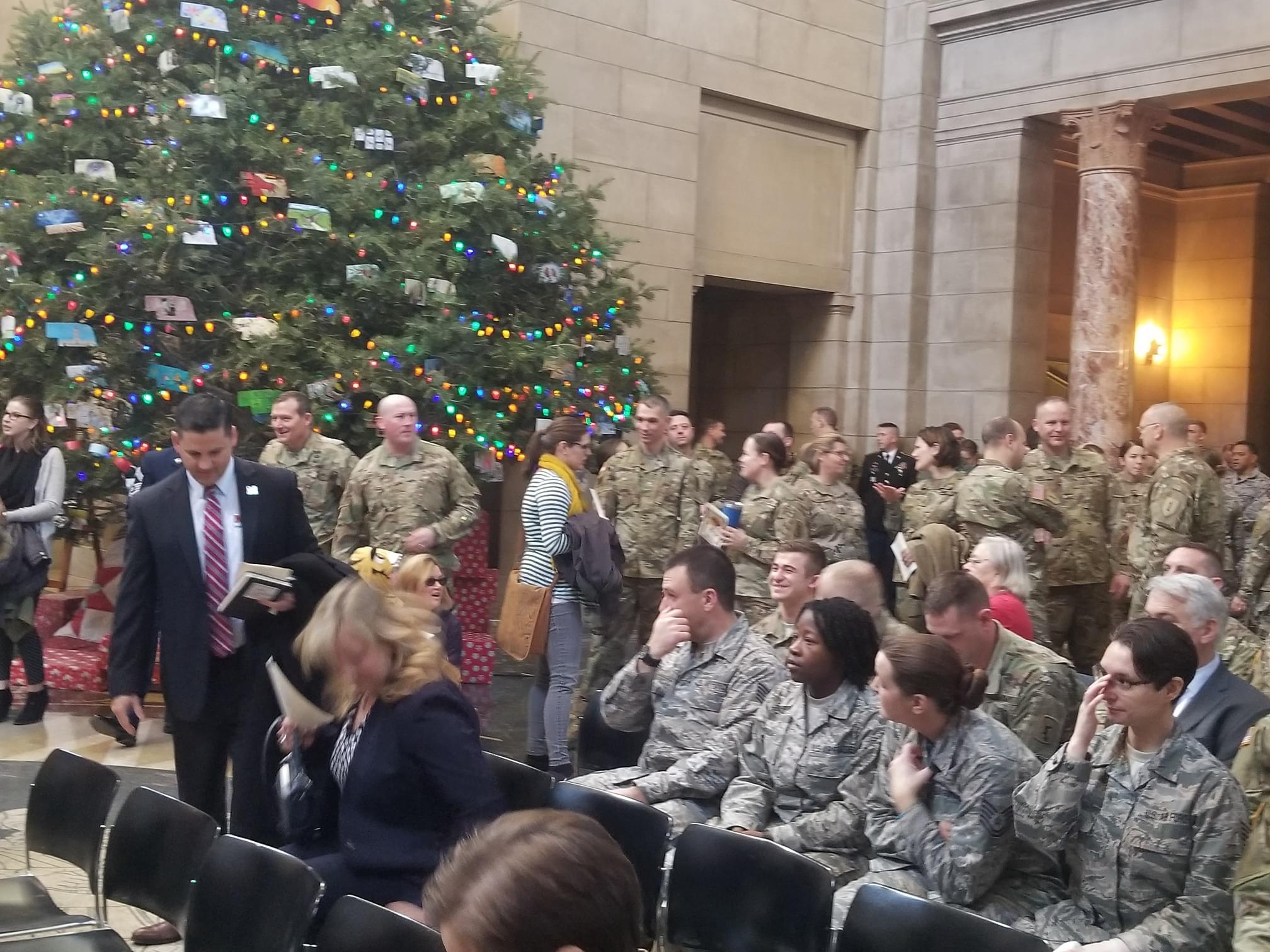 Nebraska Celebrates the 382nd Birthday of the National Guard At Capitol Ceremony