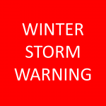 Winter Storm Warning Issued:  Updated Details