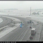 Slick Streets and Highways-Accidents and Falls Reported