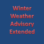 Weather Advisory Extended:  UPDATE