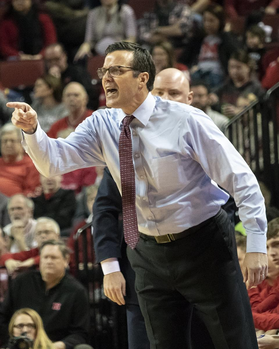 Huskers Lose Their Seventh Straight Game, Falling to Purdue 81-62