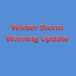 Winter Storm Warning – Updated Maps and Possible Weekend Storm