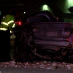 Two Hospitalized After Crash Near Memorial Stadium; Victim's Identified