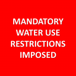 Mandatory Water Restrictions for Lincoln