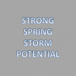 Strong Spring Storm Wednesday into Thursday