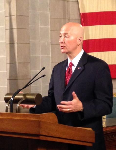 Governor Ricketts Call Tax Relief Proposal Largest Tax Increase