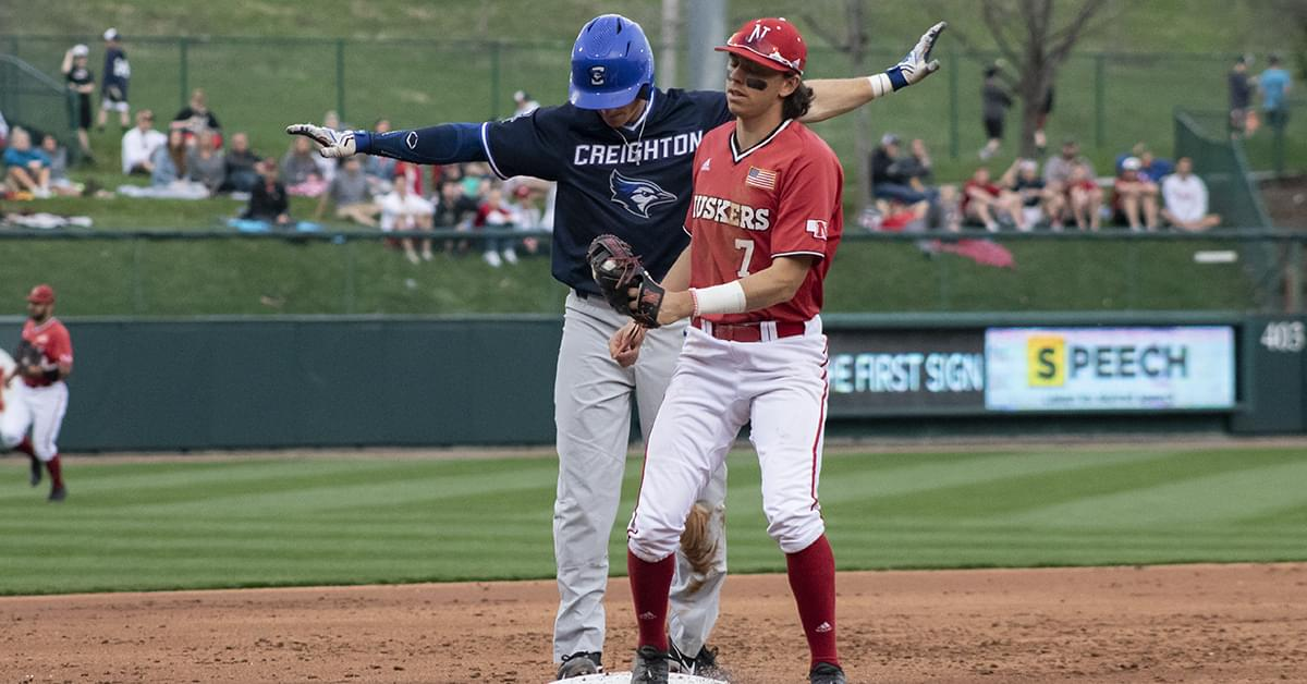 Creighton Takes the Season Series by Beating Nebraska 2-1 in TD Ameritrade Park