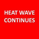 Heat Warning Remains In Effect