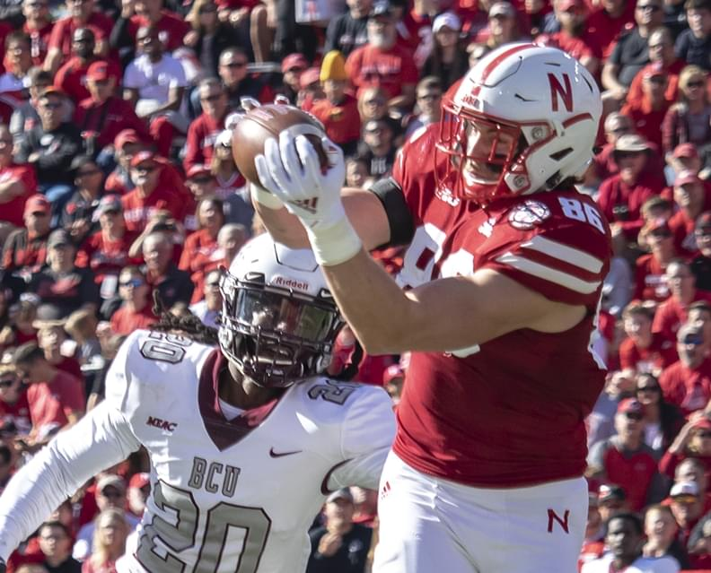 Nebraska TE Jack Stoll Named to Mackey Award Preseason Watch List