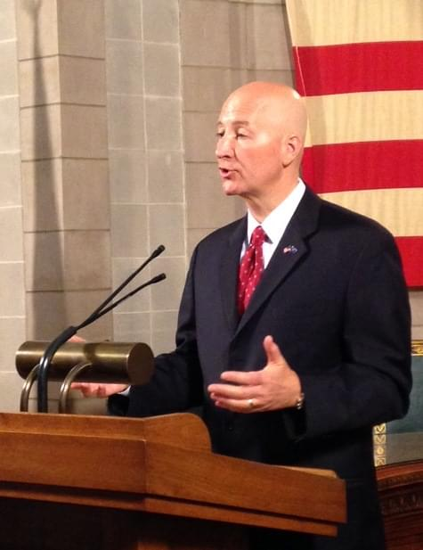 Governor Ricketts Wants To Use Additional Monthly Revenue For Property Tax Relief