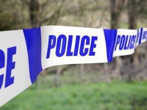 Police tape used to cordon off an incident