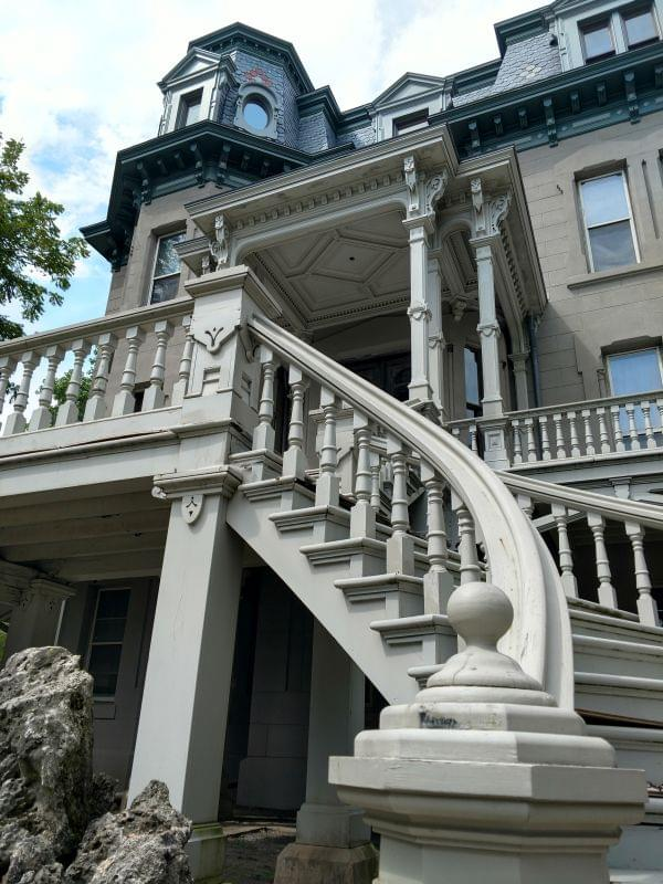 Mansion staircase August 2018