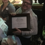 Brian Szuda named IVAC Volunteer of the the Year