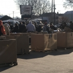 Tenth Annual Freezin' for a Reezin' food drive collects truckloads of food for the needy