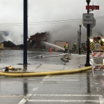 New Year's Eve fire destroys downtown Peru business