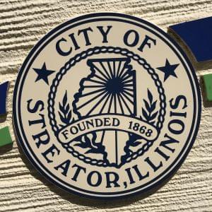 Streator city logo from sign