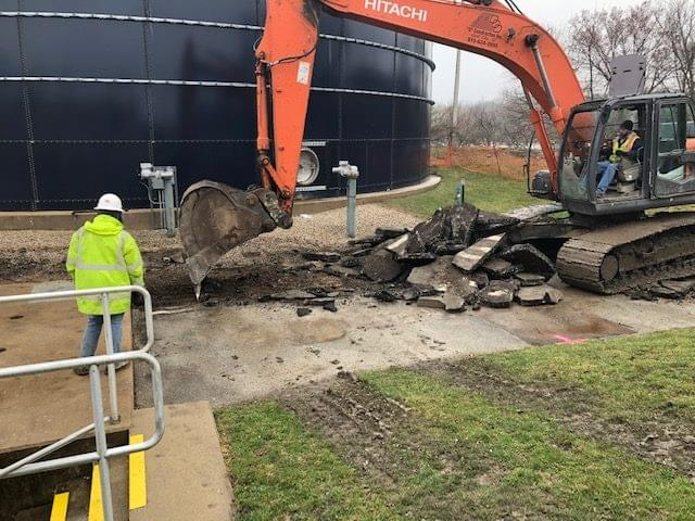Marseilles wastewater treatment plant levee project begins | WCMY-AM