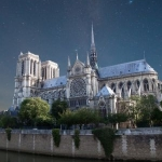 Fr. David Kipfer says Notre Dame fire is a shock to France and the world