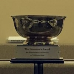 Traveling cup presented to Ottawa for Hometown Volunteerism