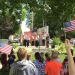 Elks and American Legion put on Flag Day observance