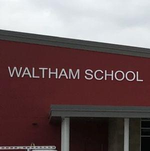Registration scheduled at new Waltham School building