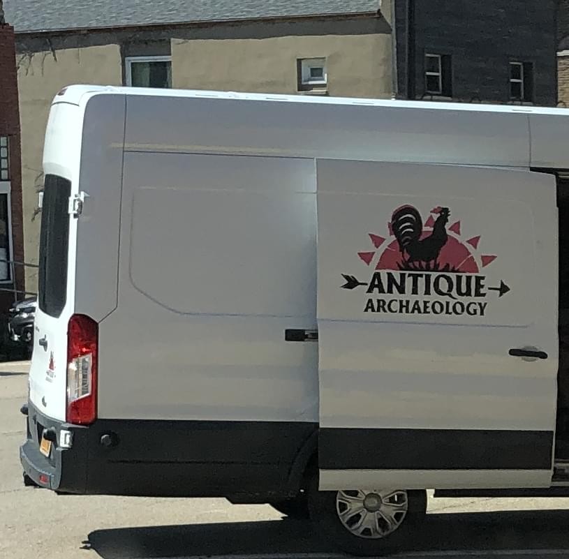 American Pickers visit downtown LaSalle