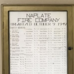 Naplate fire department marks 70 years