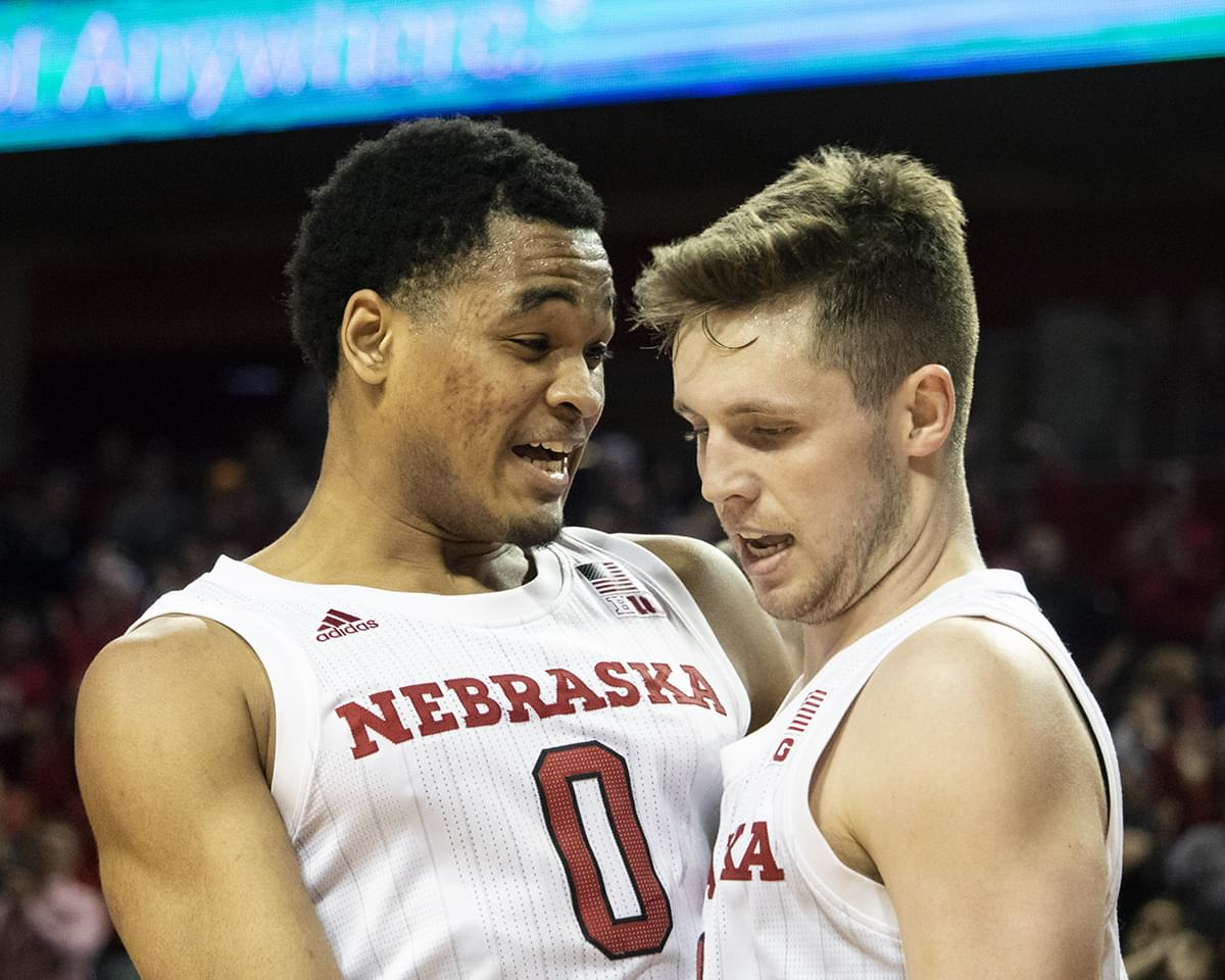 Huskers Beat Butler 80-76 in First Round of NIT