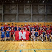 Huskers with Toray Arrows (1)