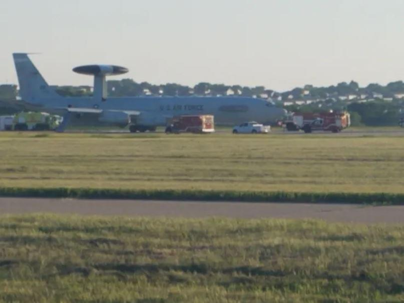 Air Force Jet Makes Emergency Landing In Nebraska After Fire