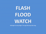 Flash Flood Watch Midnight Tonight Through Monday Morning