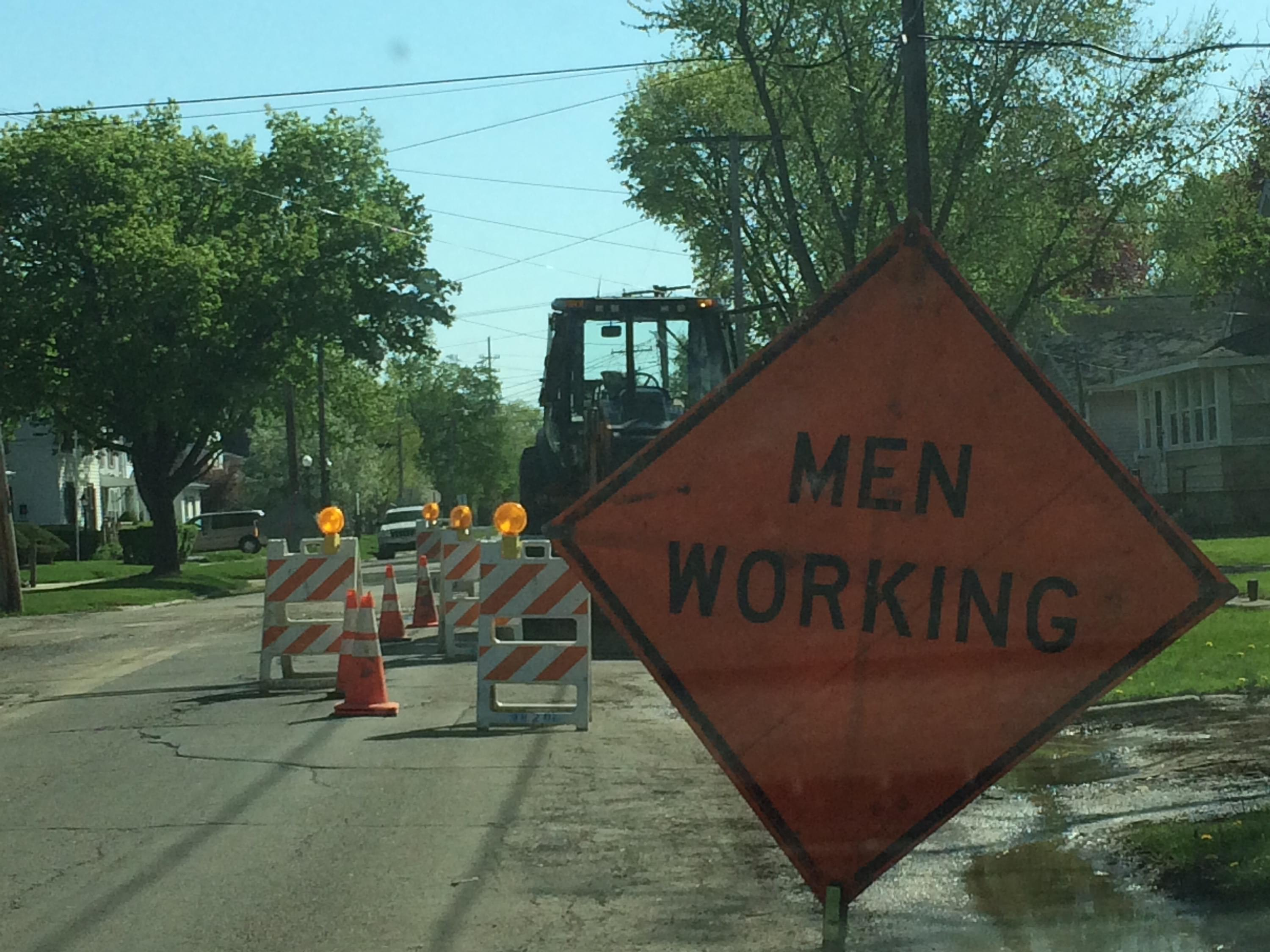 Road Men Working
