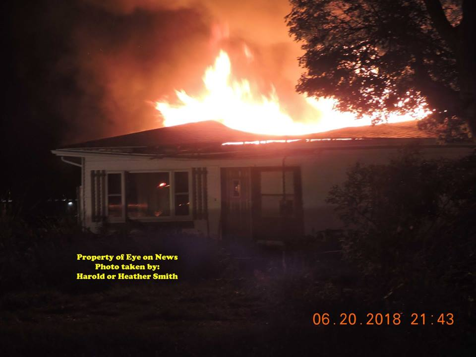 Sterling Fire Abandoned Home