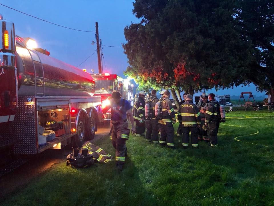 Fire Crews Say Smoke Detectors Saved Lives in Thursday Morning Blaze